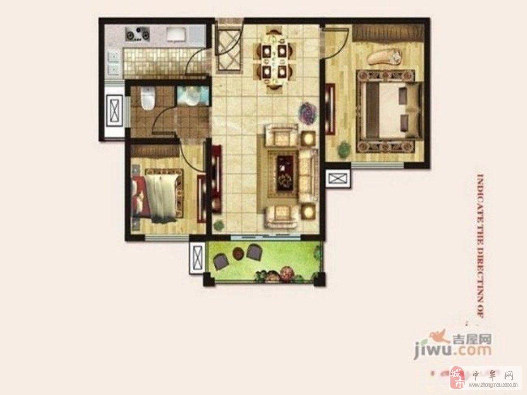 其他小區2室2廳1衛53萬元