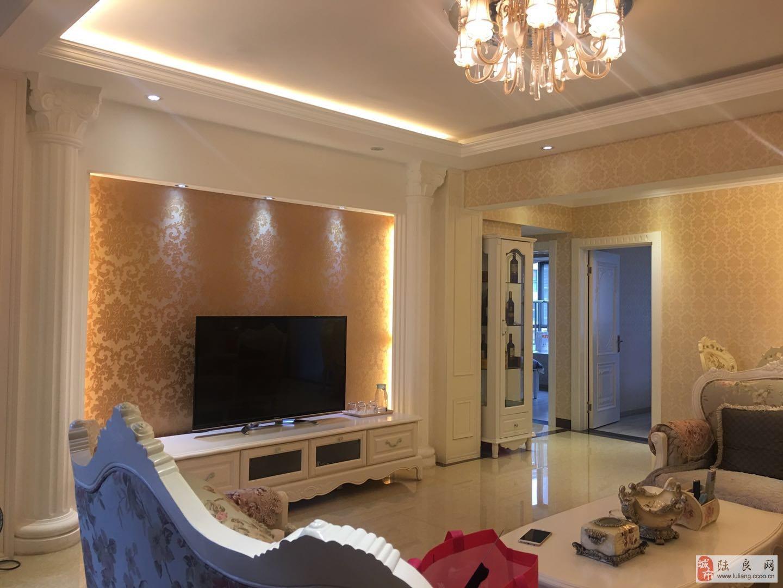 鑫城国际 豪华装修 带全套定制家具 超级优质