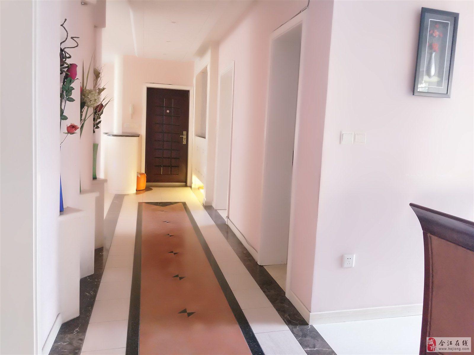 利城花园豪装三室两厅双卫4楼130平米76万