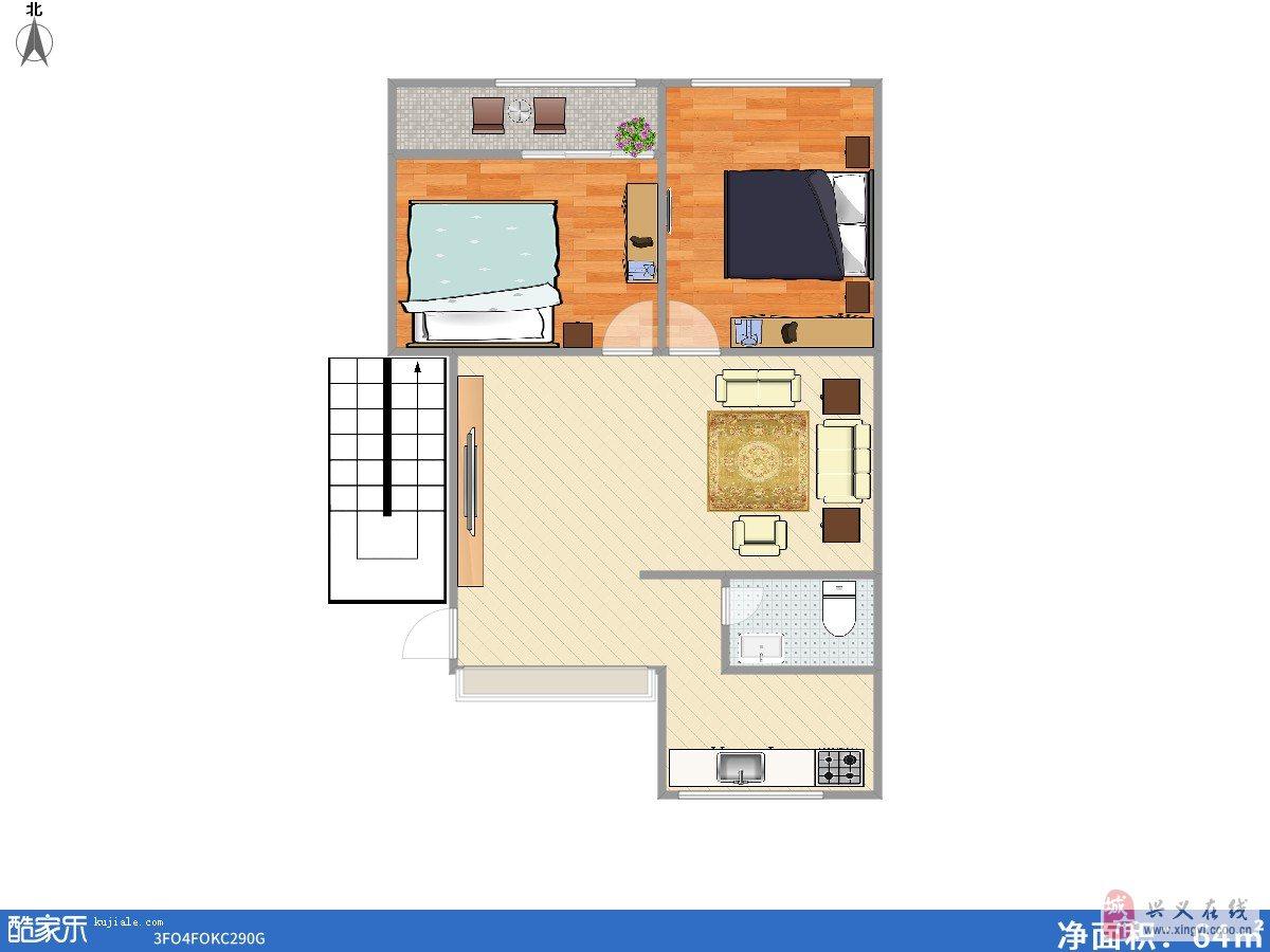 吉祥小区,向阳路小学学区房2室1厅1卫30万元