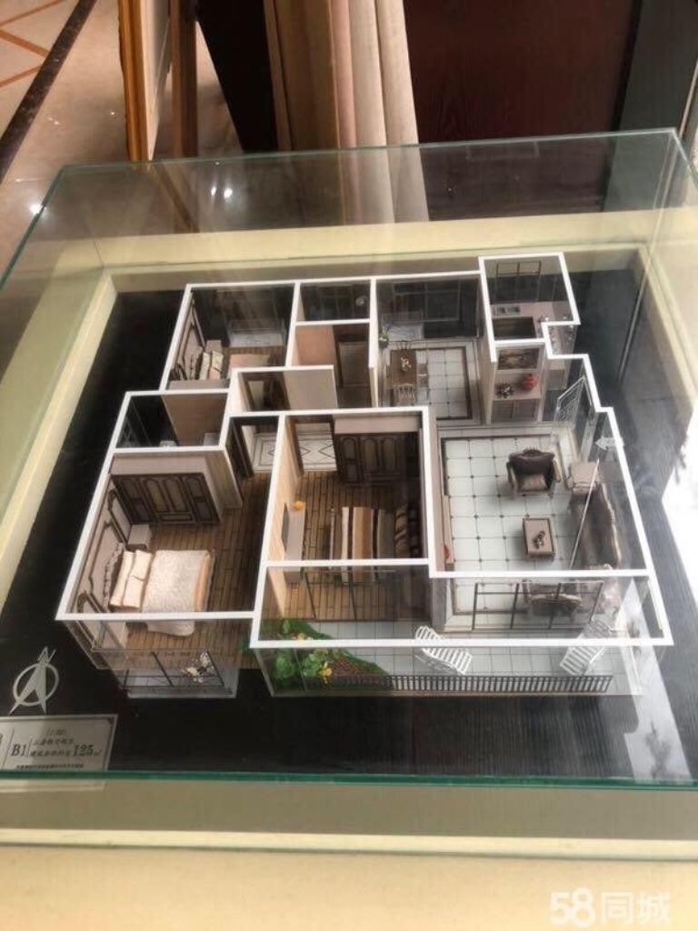 汇锦·伊顿公馆花园洋房3室2厅1卫78万元