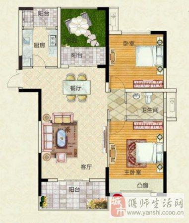 天明城大三房带80平大露台新房手续有意者看房