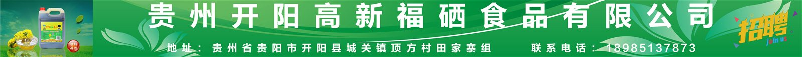 贵州开阳高新福硒食品有限公司