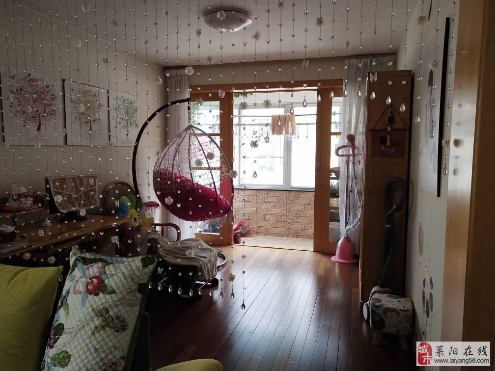 莱阳【蚬河小区】精装,4居室,三室朝阳,带车库