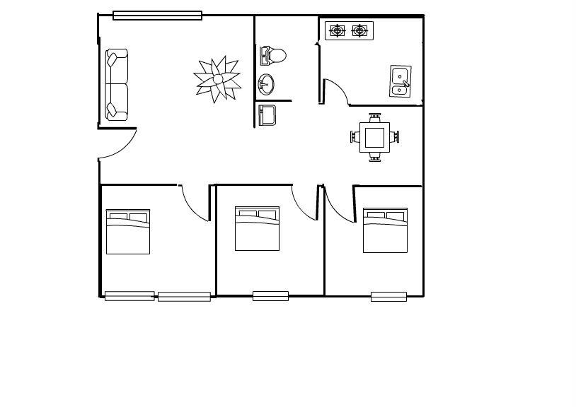 建筑公司(原吴店养鸡场)家属楼3室2厅1卫16万元