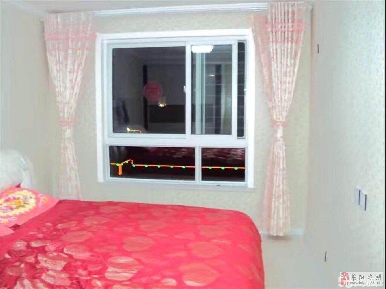 莱阳市新房源,阳光城3室2厅2卫110万元