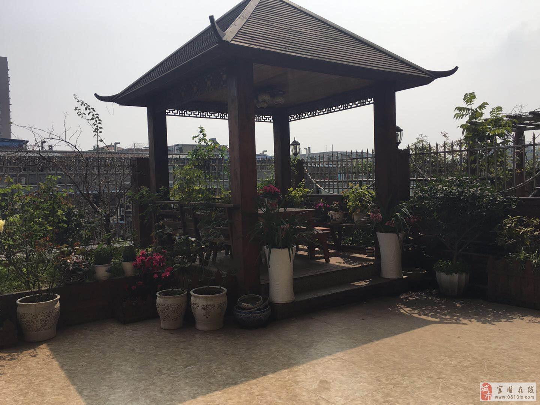 翰林福邸3室2厅2卫105万元带大花园平台