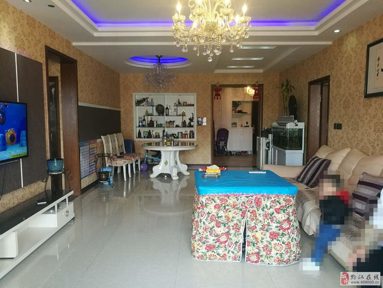 玫瑰湾128平精装3室2厅套房出售,视野好、朝中庭!