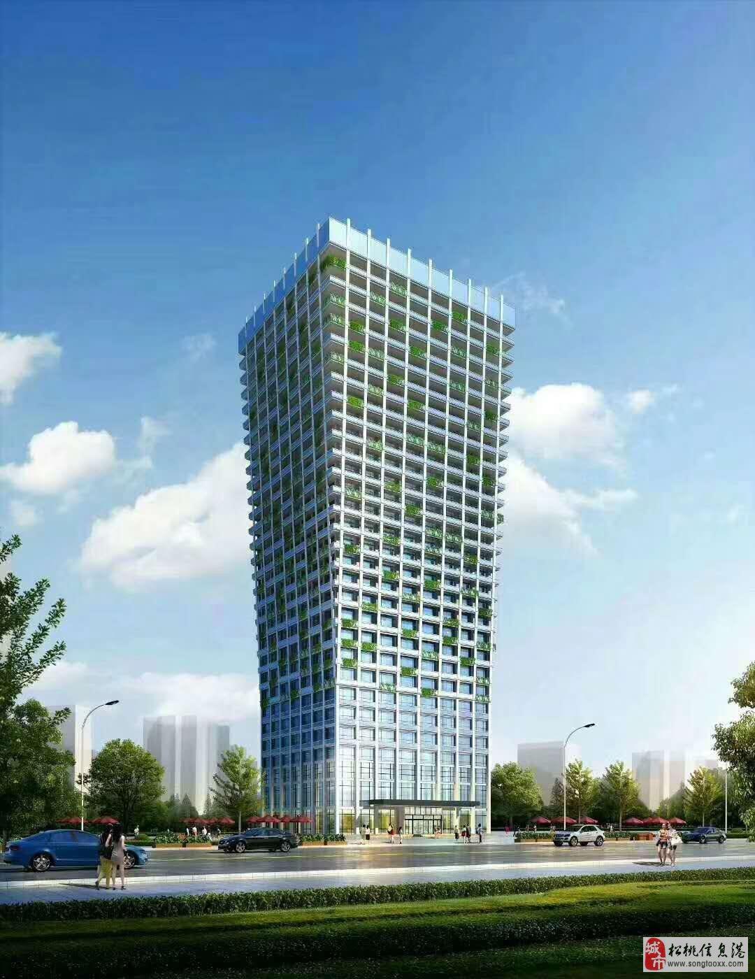 希尔顿高端公寓首付14万起送精装修