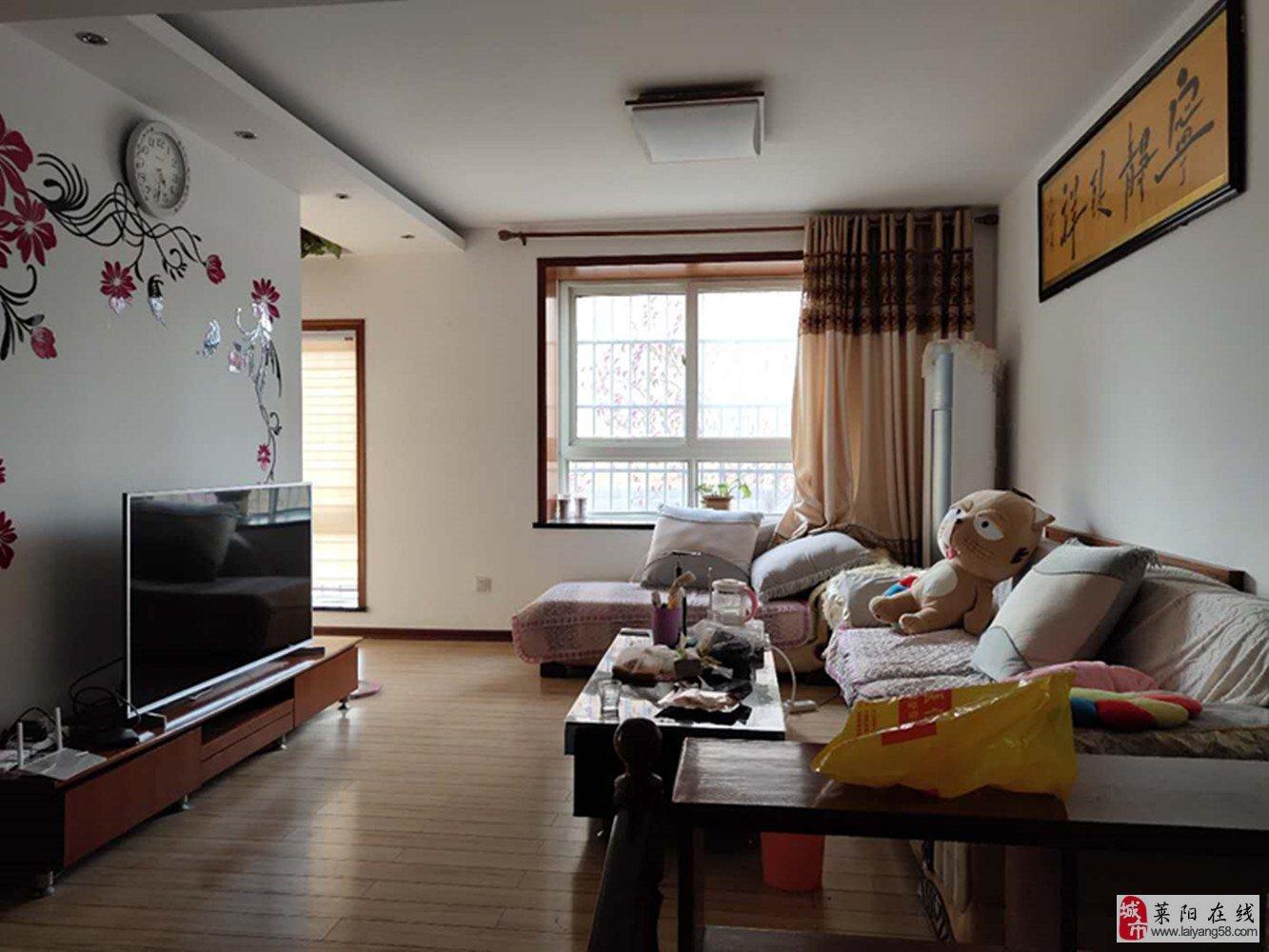 九中片汇龙湾109平1楼三室两厅两卫带小房