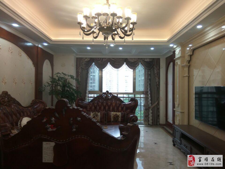 2660园林式小区西城壹号美式豪装三室双卫正对中庭