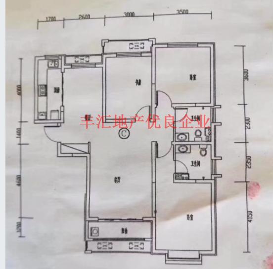 好泰·御捷城东楼头单价低3室2厅2卫