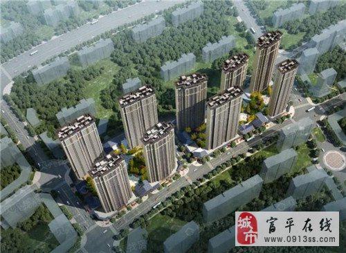 西安滨江翡翠城-全新河景住宅、地铁2、10号线旁