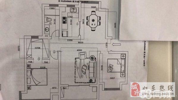 尚诚中介:浦发领秀城二室二厅104平105万