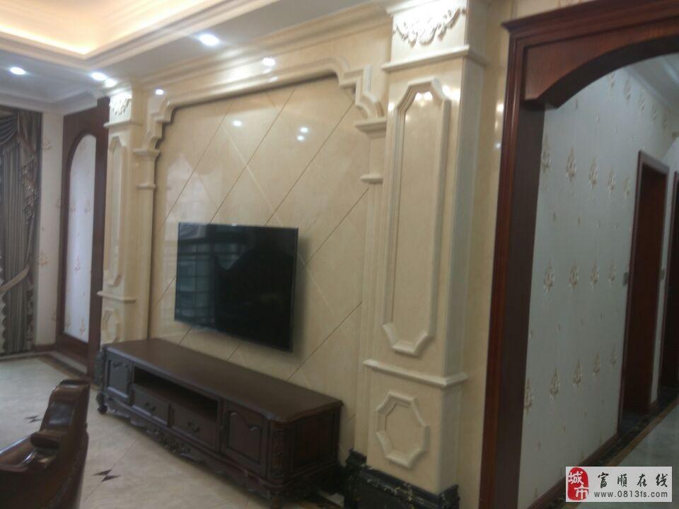 豪装婚房西城一号三室双卫全新装修对中庭带中央空调