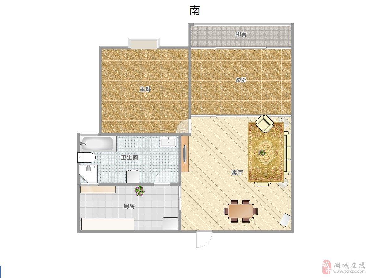 久阳春天精装2室1厅1卫62万元