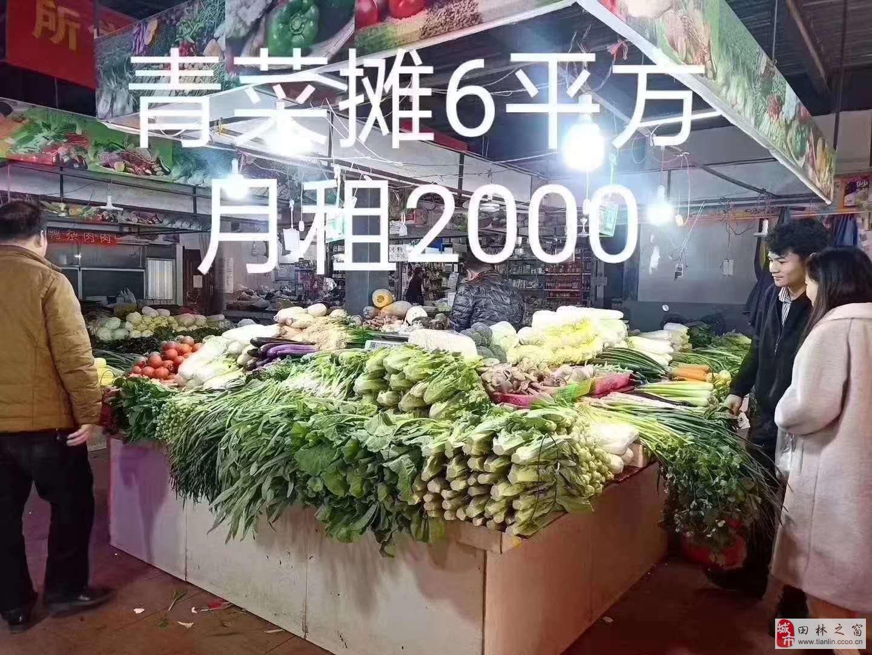 南宁江南现铺现摊总价6万超长收益50年