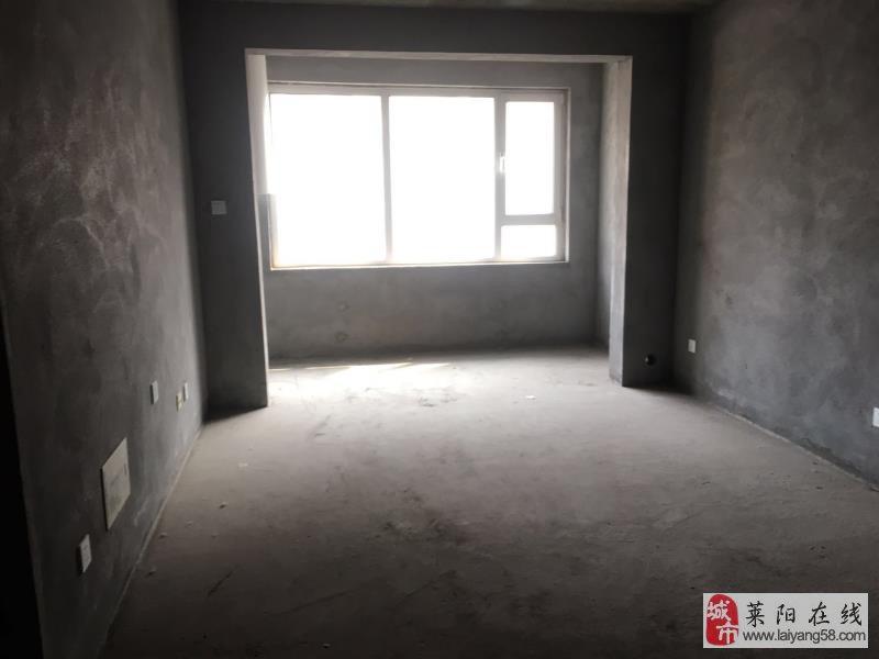 莱阳山水华庭,三室,毛坯房可随意装修