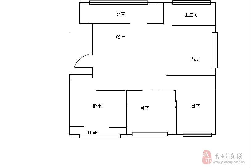 步云學區房,3室,能貸款  117平   84萬