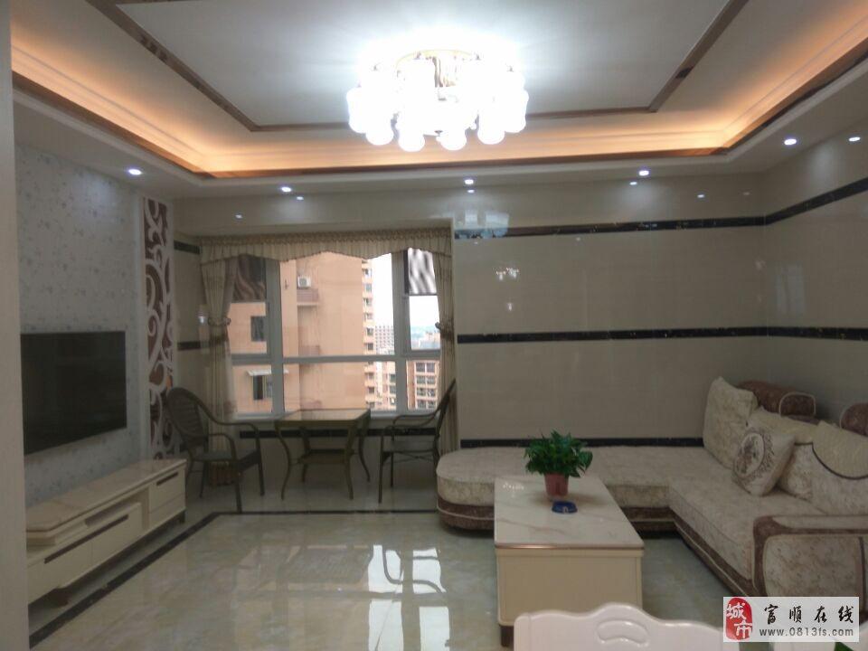 2731中央公园电梯两室两厅精装户型正气家具家电齐