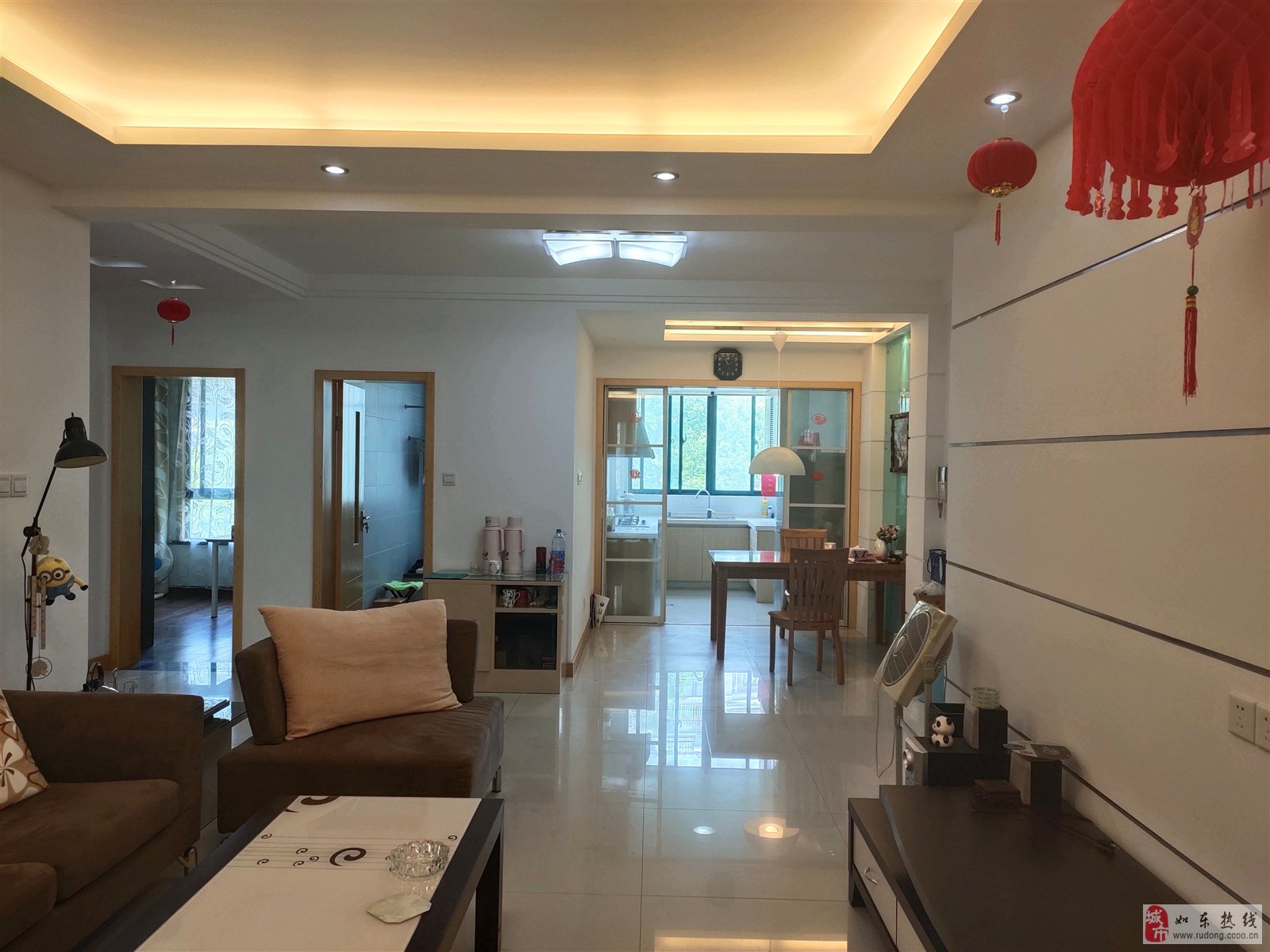 H型满五唯一,中坤苑125平米3室2厅2卫,送附房