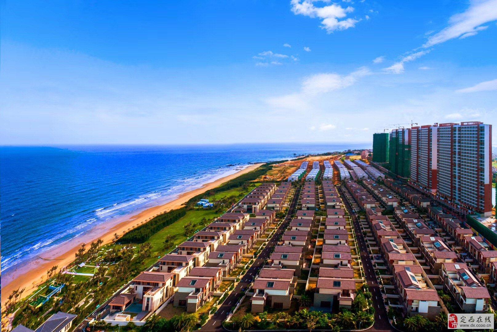 广东湛江鼎龙湾海景房——一线看海国际旅游度假区!