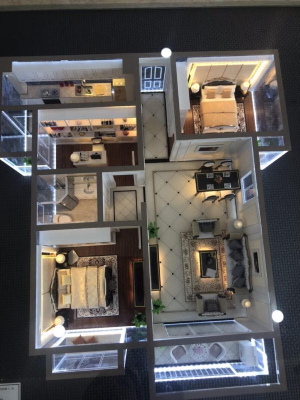 特价房金沙水岸二期104.7平仅售68万高层