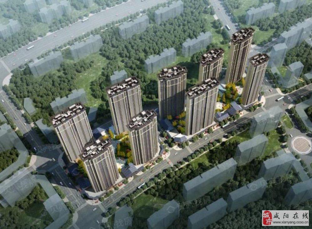 88平米起、南北通透、全明户型-西安滨江翡翠城