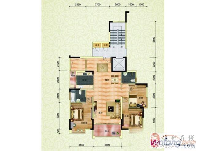 城市明珠电梯房131平精装中间楼层满五唯一首付30