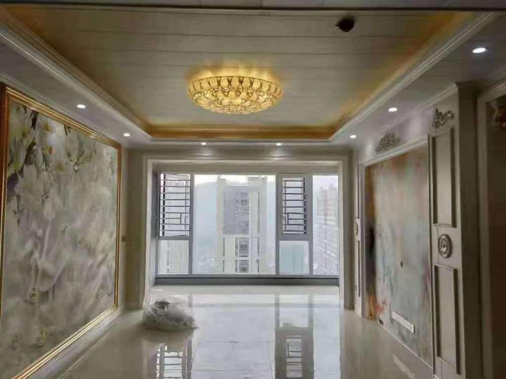 万达澳门葡京赌场网址广场高层精装修137平加车库仅售155万元