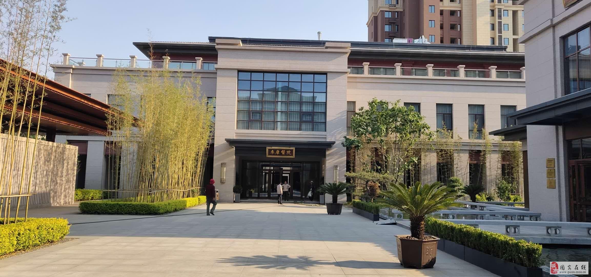 AA级景区里的洋房,带花园,温泉,牛驼3室2厅进京快