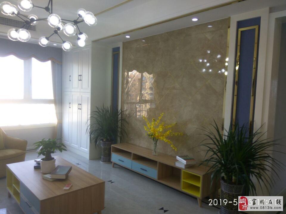 2805高品质小区西城国际现代风格三室双卫豪华装修