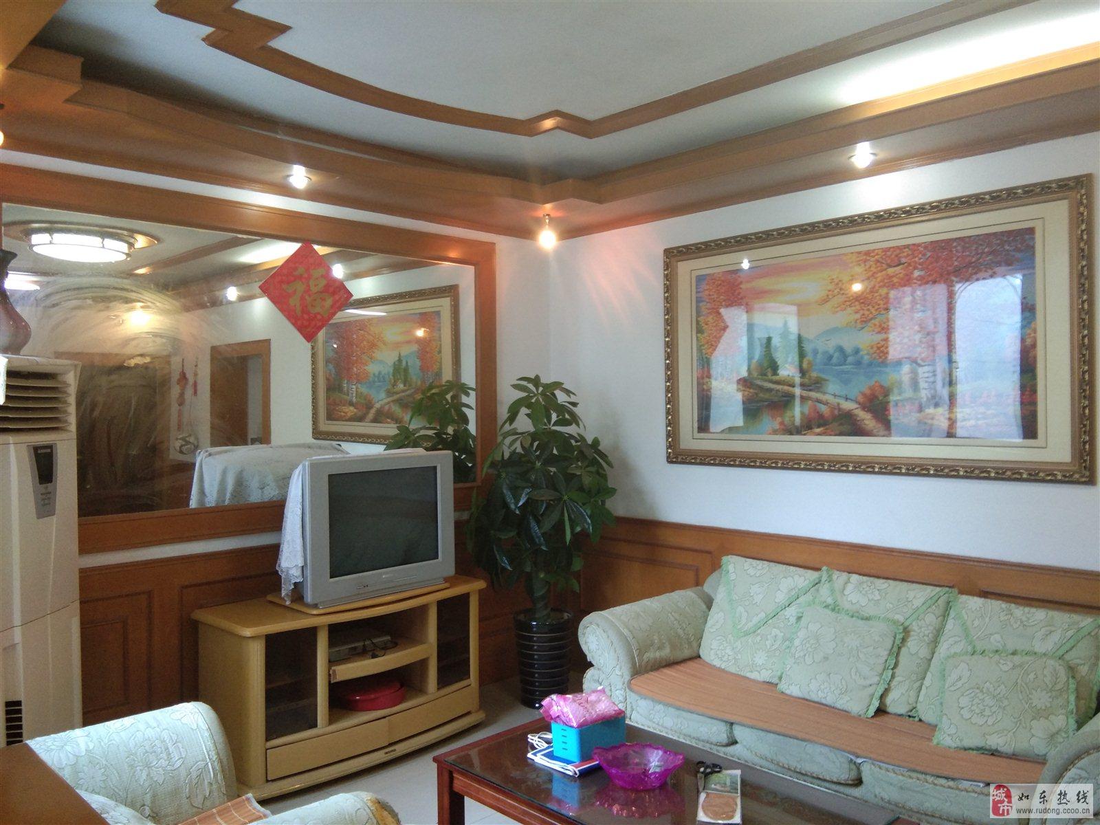 王彭小区精装87平米52.8万元,附房12平米