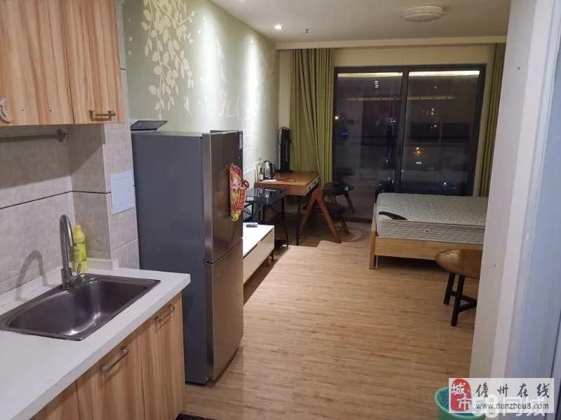 儋州市水榭丹堤1室1厅1卫环境优美小区人车分离