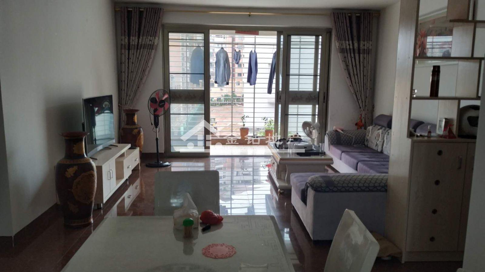 福都华庭78万2室2厅2卫普通装修难得的好户型