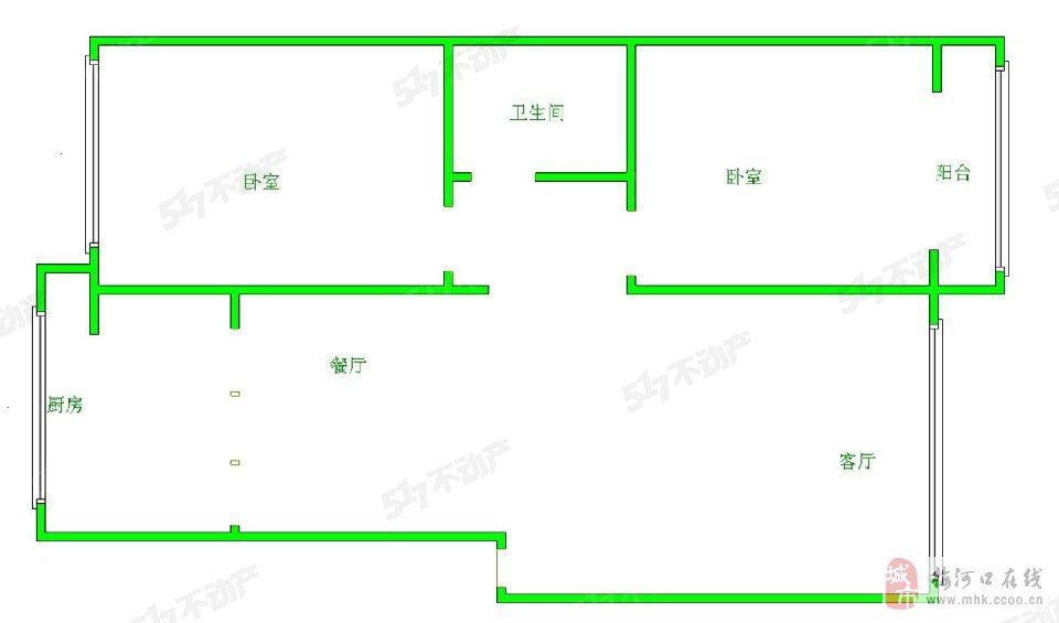 高丽新村2室1厅1卫33.8万元
