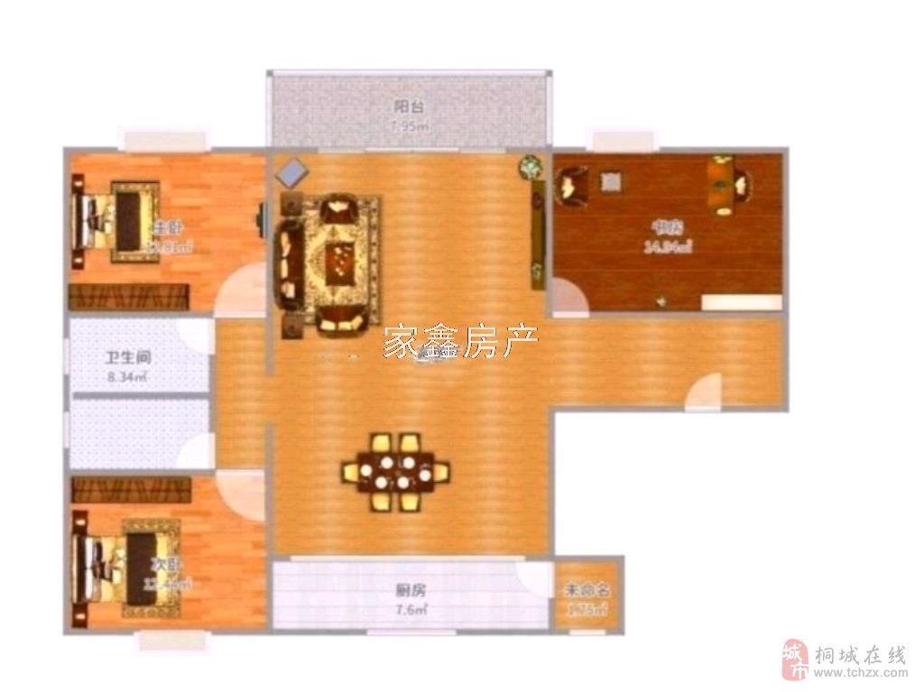 碧桂园、高档社区、高层电梯、全新精装3居室、超值