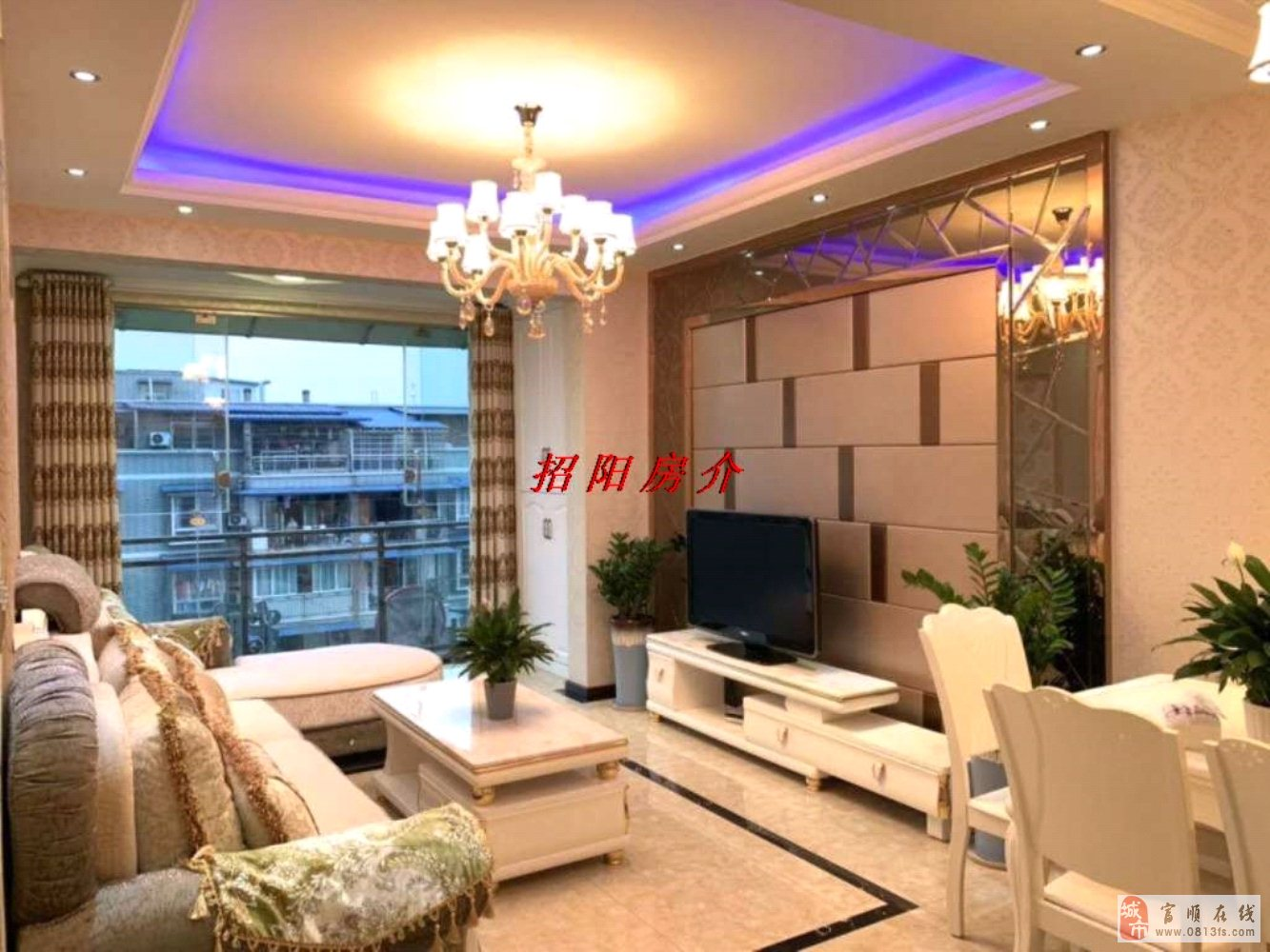 翰林福邸精装2室2厅1卫送两阳台64.8万元