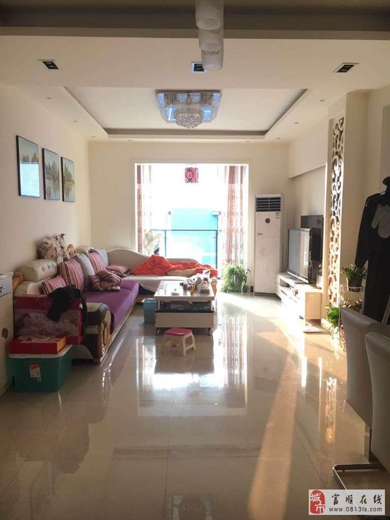 园林小区东湖上城2室2厅精装带家具家电44万元