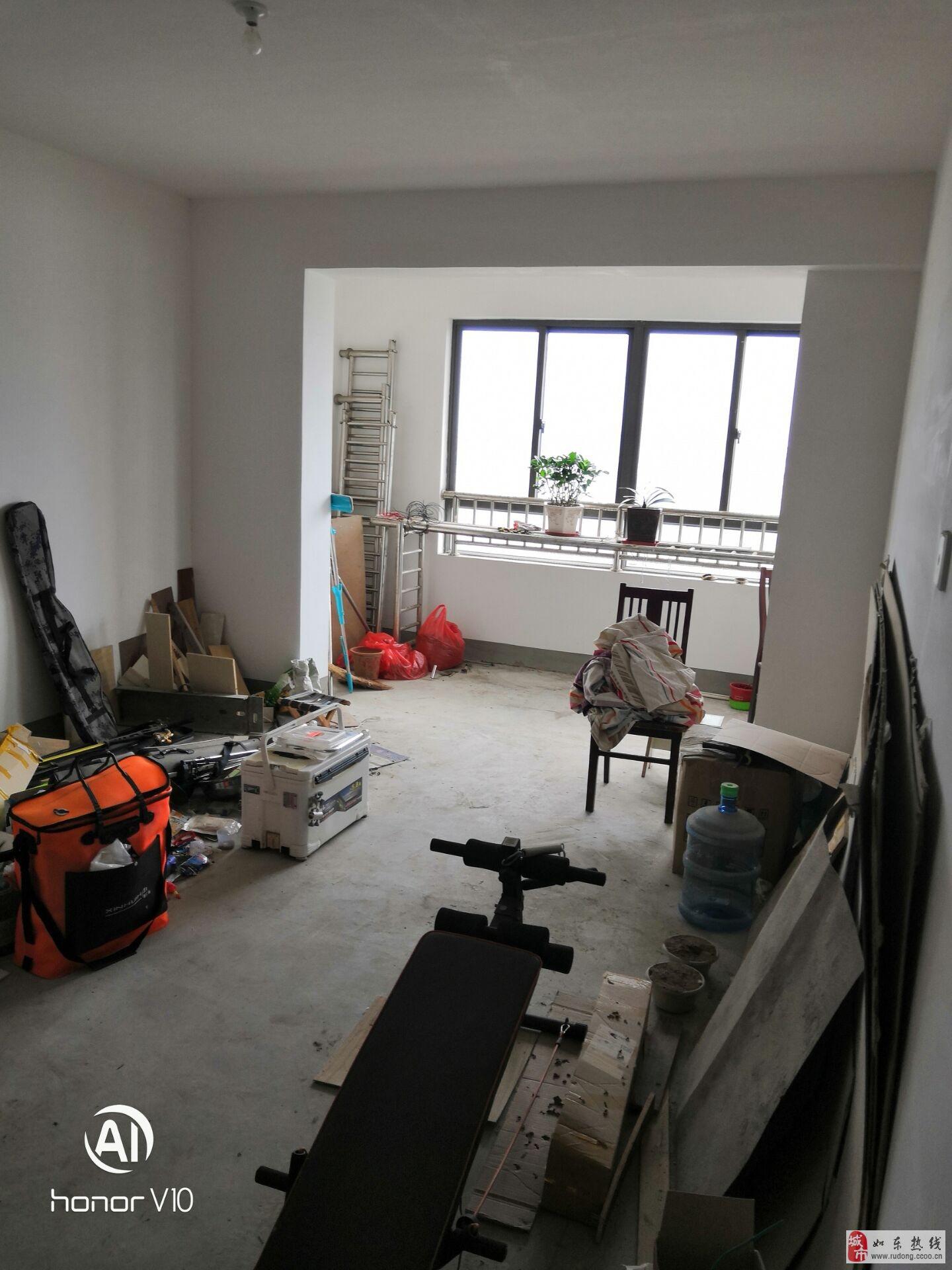 民生银河湾107平米2室2厅1卫双阳台