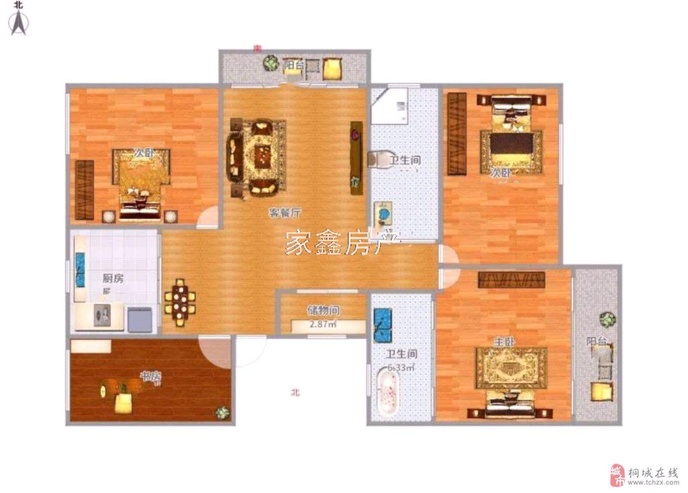 花漾年华~电梯观景房~超大阳台~实际面积达140平