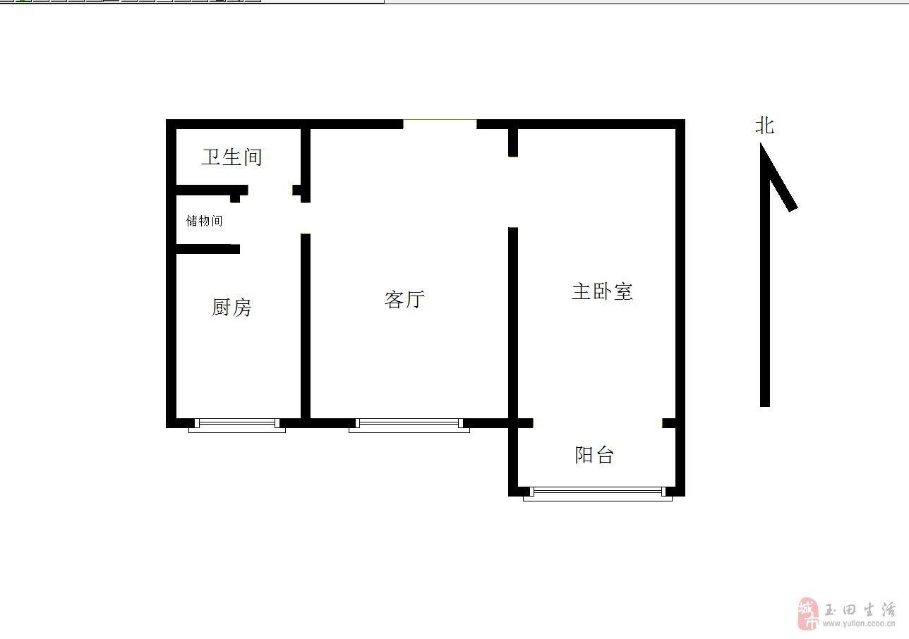 有房本直接過戶金地家園小區1室1廳1衛45萬元