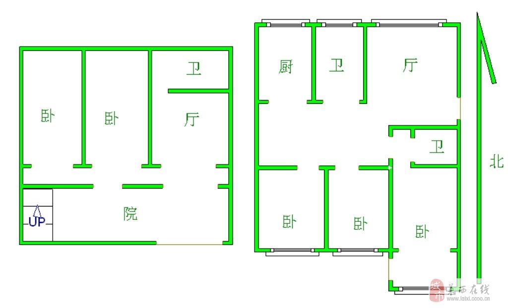 樺杰豪景二期一樓帶院117平毛坯可改復式,價格電詢!
