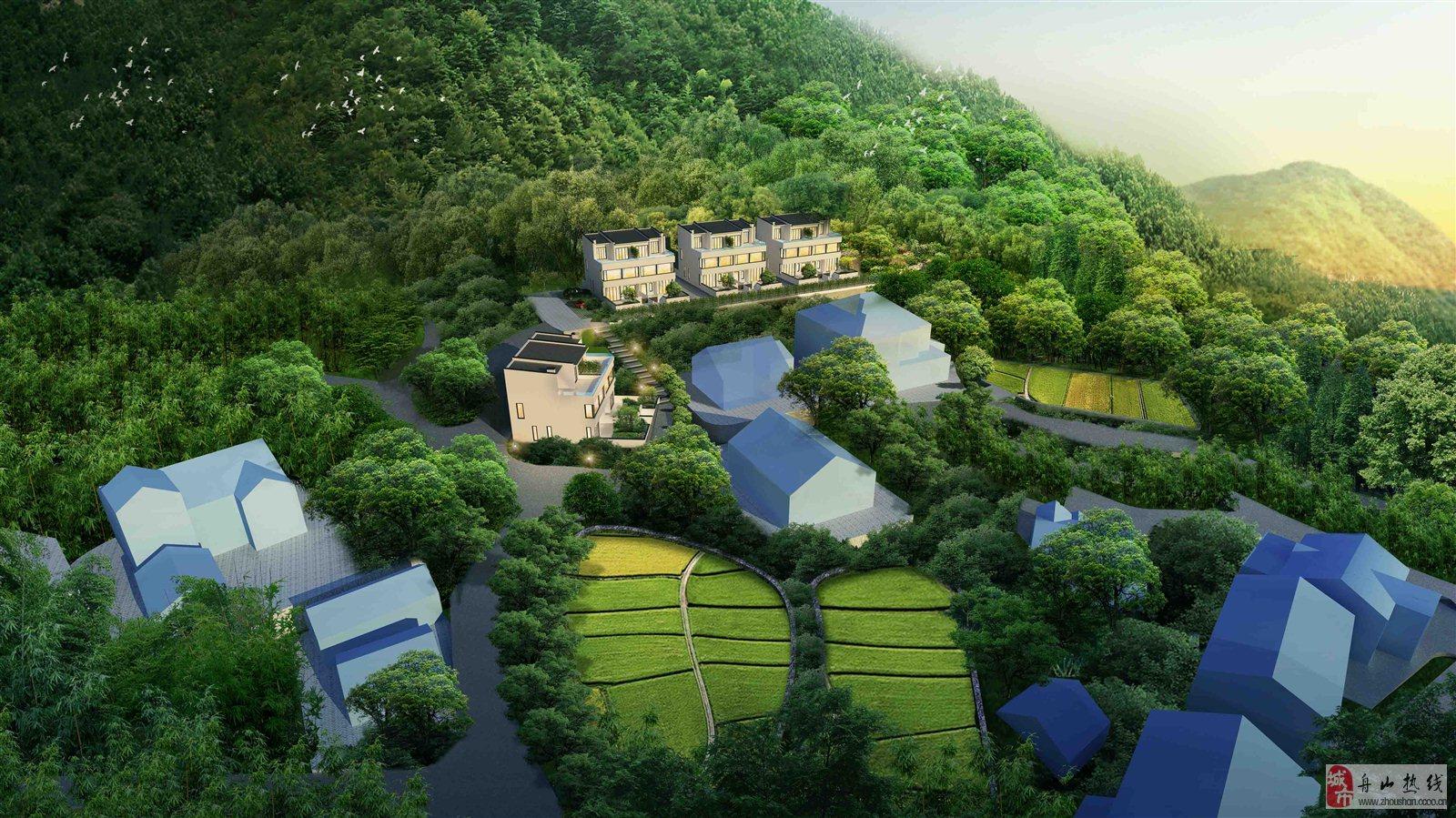 南坡居梯田景观4室2厅3卫仅60万元
