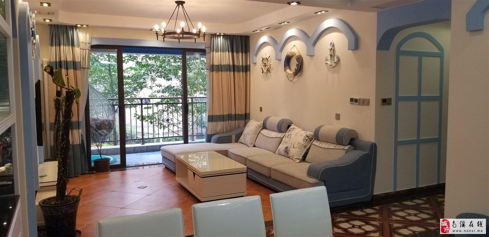 证满两年 丽雅时代 精装4室 带墙暖 中央空调 未住人