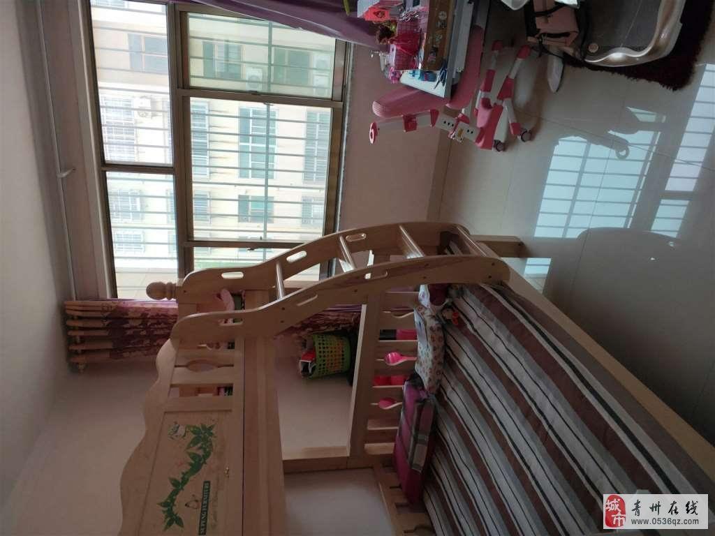 心怡园三楼80两室精装修带车库储69.9双证可按揭