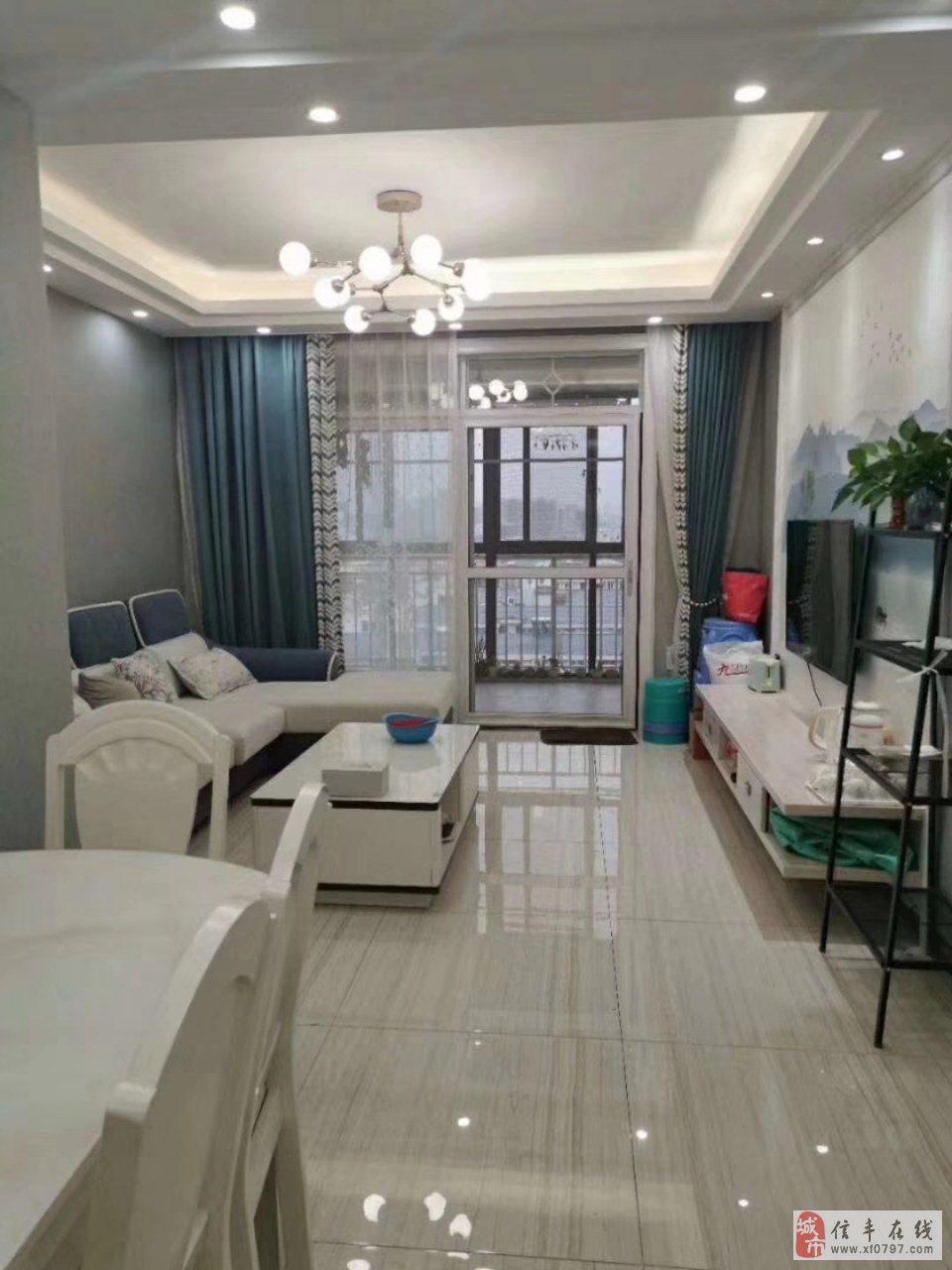 信丰七小学区房书香苑3房2厅全新装修未入住