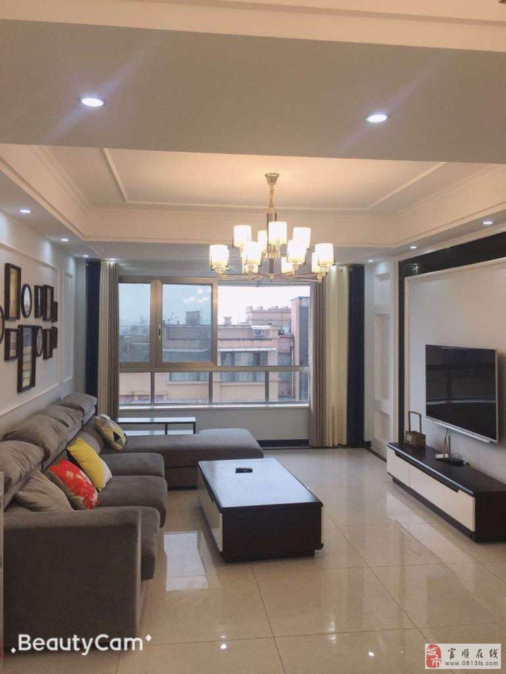急售西城国际黄金12楼全新装修家具家电齐全领包入