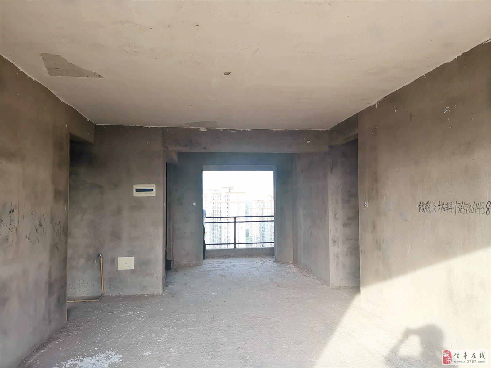 桃江龙城150方大平层4房前江景后园林
