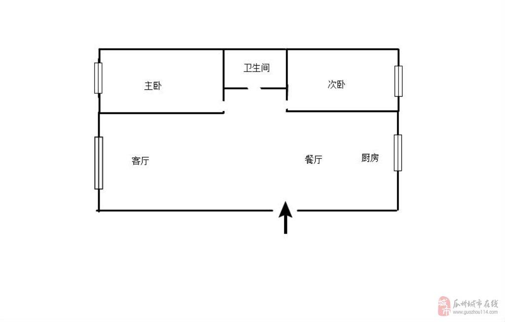 麗景花園2室2廳1衛29.9萬元,可按揭可公積金